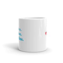 Load image into Gallery viewer, Kelsey Dangerous It's Fine Blue Mug