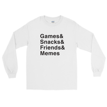Load image into Gallery viewer, Multiplayer By BuzzFeed Games & Long Sleeve T-Shirt