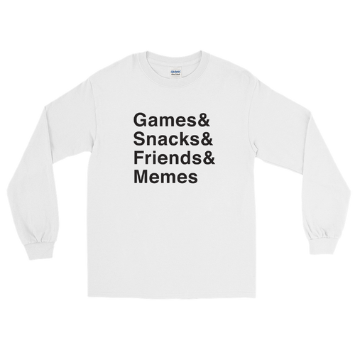 Multiplayer By BuzzFeed Games & Long Sleeve T-Shirt