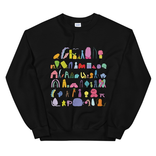 The Land Of Boggs Line Up Sweatshirt