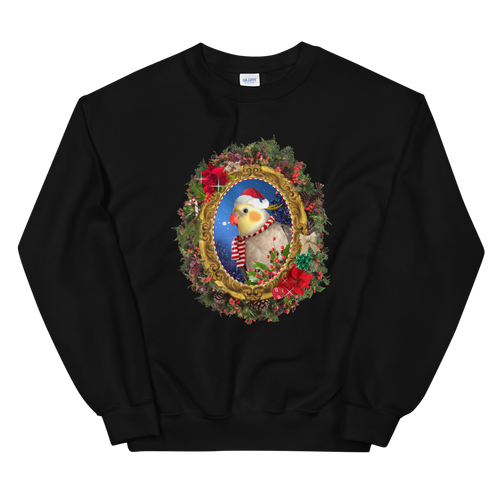BuzzFeed Bird Portrait Ugly Holiday Sweater Sweatshirt