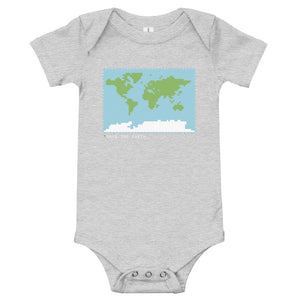 BuzzFeed Save The Earth Earth Day Baby Onesie