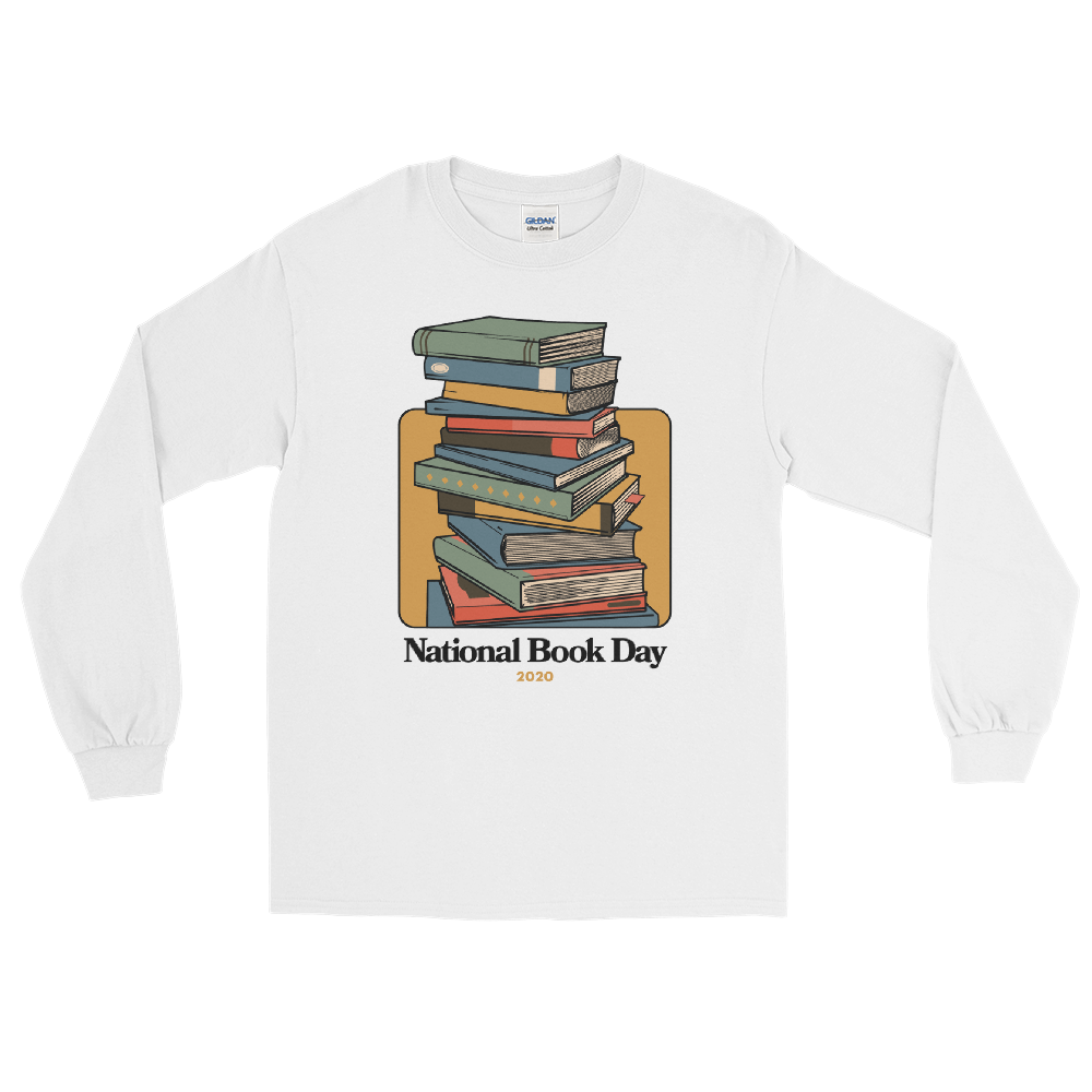 BuzzFeed Stack O' Books Book Day Long Sleeve T-Shirt