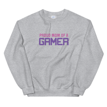 Load image into Gallery viewer, Multiplayer By BuzzFeed Proud Mom Gamer Sweatshirt