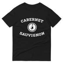 Load image into Gallery viewer, BuzzFeed Cabernet Sauvignon Collegiate Wine Day T-Shirt
