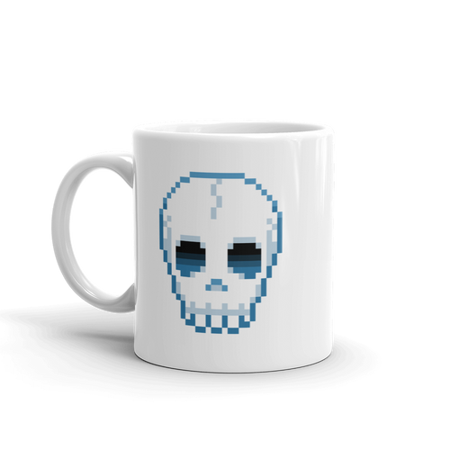 Multiplayer By BuzzFeed Skull Emote Mug