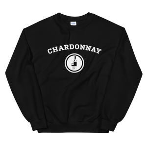 BuzzFeed Chardonnay Collegiate Wine Day Sweatshirt