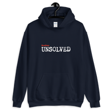Load image into Gallery viewer, BuzzFeed Unsolved Logo Hooded Sweatshirt