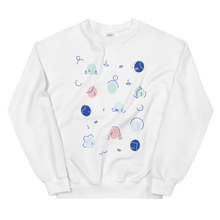 Load image into Gallery viewer, BuzzFeed International Women's Day Faces Sweatshirt