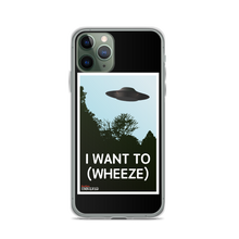 Load image into Gallery viewer, BuzzFeed Unsolved I Want To (Wheeze) iPhone Case