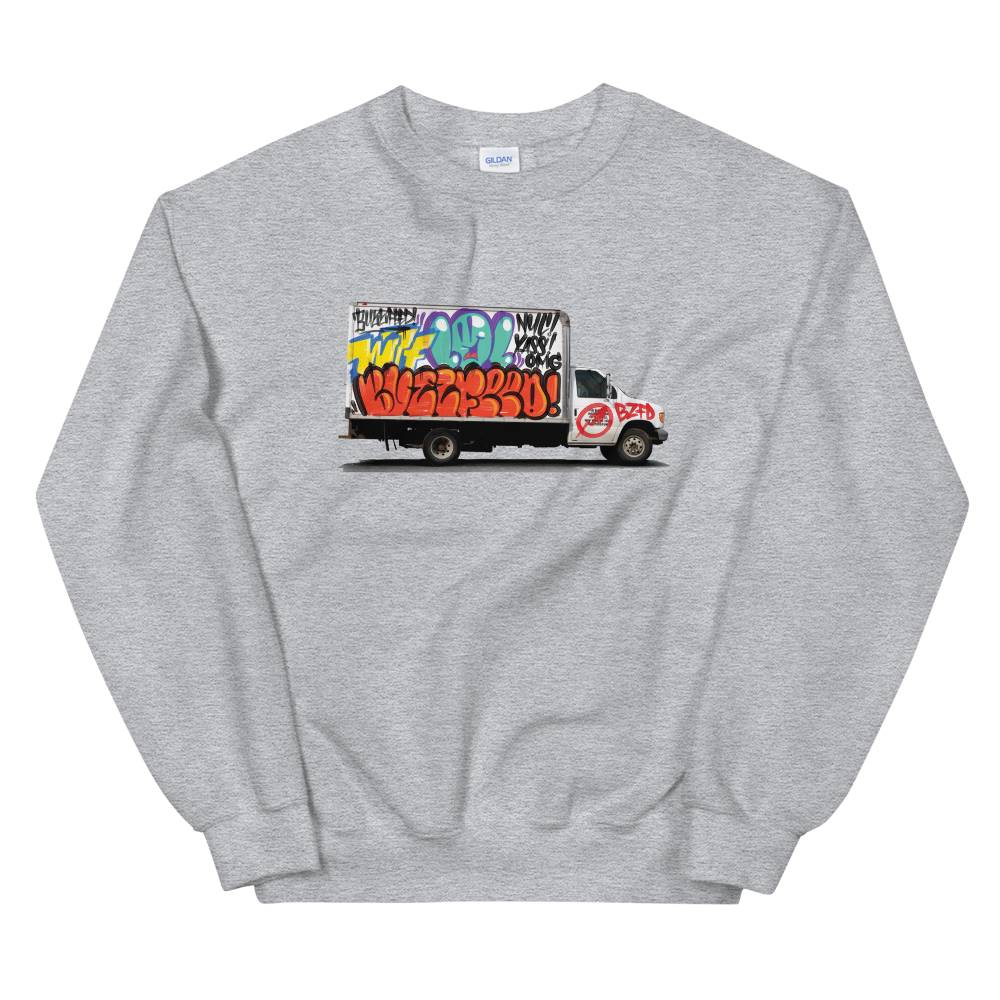 BuzzFeed LOL Graffiti Truck Sweatshirt