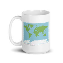 Load image into Gallery viewer, BuzzFeed Save The Earth Earth Day Mug