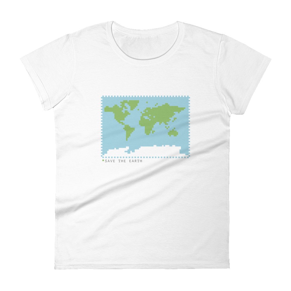 BuzzFeed Save The Earth Earth Day Women's T-Shirt