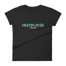 Load image into Gallery viewer, Multiplayer By BuzzFeed Logo Women's T-Shirt