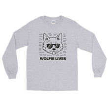Load image into Gallery viewer, Multiplayer By BuzzFeed Wolfie Lives Long Sleeve T-Shirt