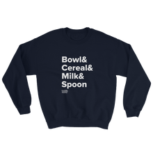 Load image into Gallery viewer, Tasty Cereal Recipe Sweatshirt