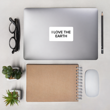 Load image into Gallery viewer, BuzzFeed I Love The Earth Earth Day Sticker