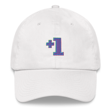 Load image into Gallery viewer, Multiplayer By BuzzFeed +1 Emote Dad Hat