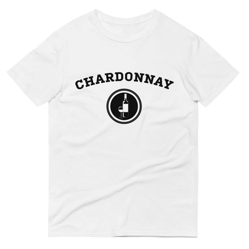 BuzzFeed Chardonnay Collegiate Wine Day T-Shirt