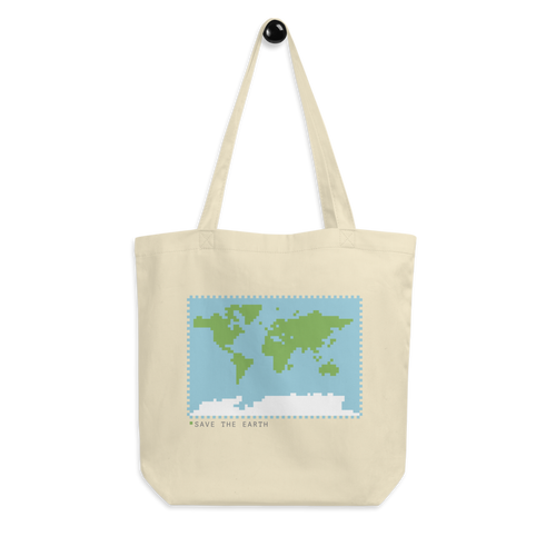 BuzzFeed Save The Earth Earth Day Tote Bag