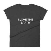 Load image into Gallery viewer, BuzzFeed I Love The Earth Earth Day Women's T-Shirt
