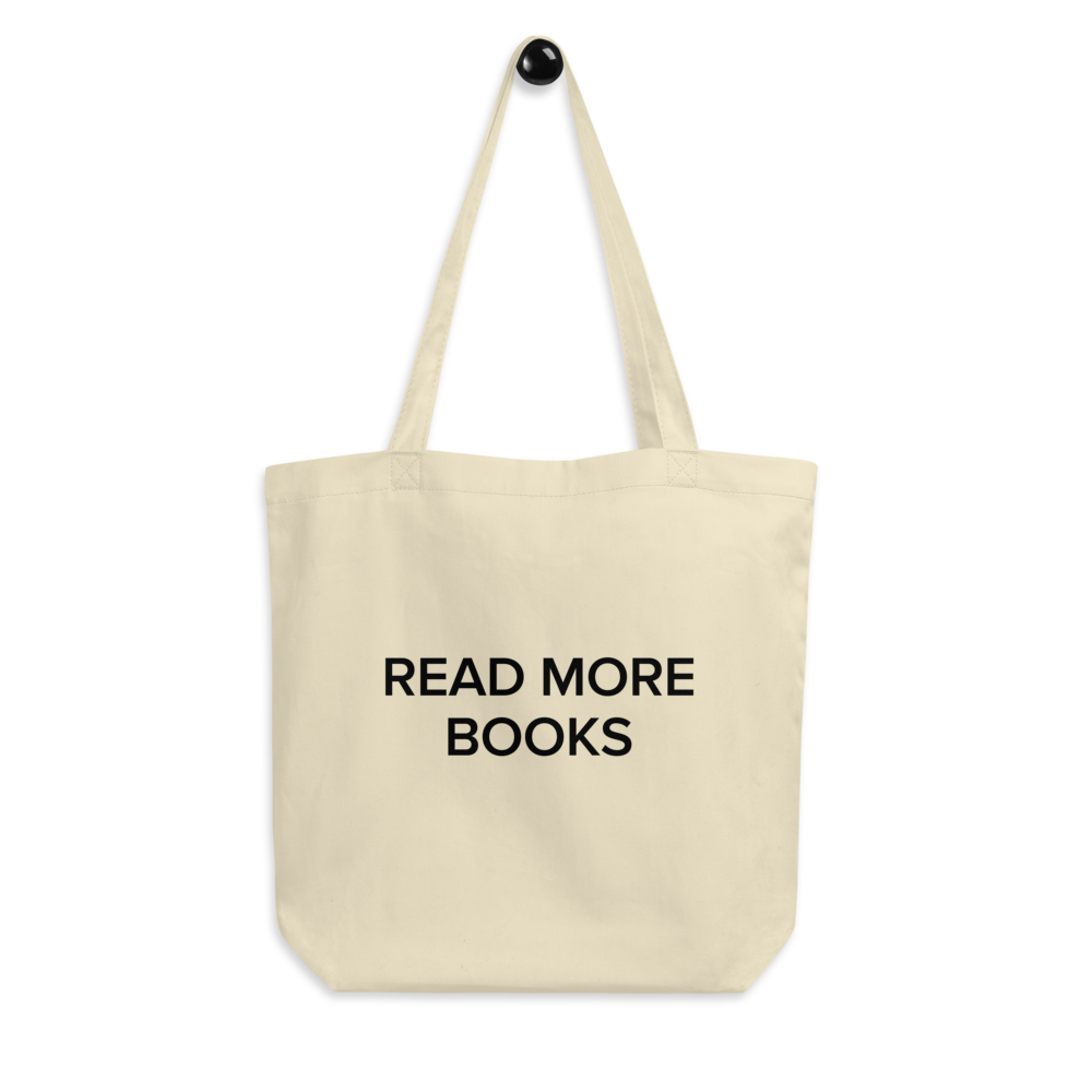 BuzzFeed Read More Books Book Day Tote Bag