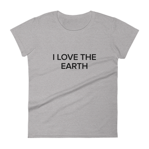 BuzzFeed I Love The Earth Earth Day Women's T-Shirt