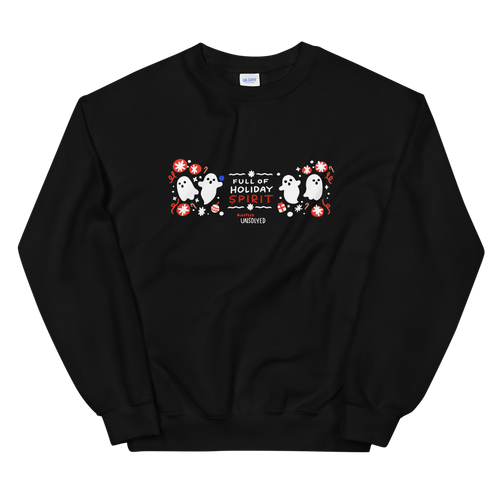 BuzzFeed Unsolved Holiday Spirit Sweatshirt