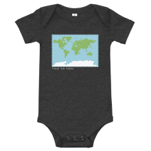 Load image into Gallery viewer, BuzzFeed Save The Earth Earth Day Baby Onesie