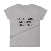Load image into Gallery viewer, BuzzFeed Love Language Book Day Women's T-Shirt
