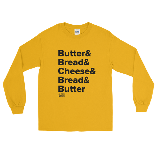 Tasty Grilled Cheese Recipe Long Sleeve T-Shirt