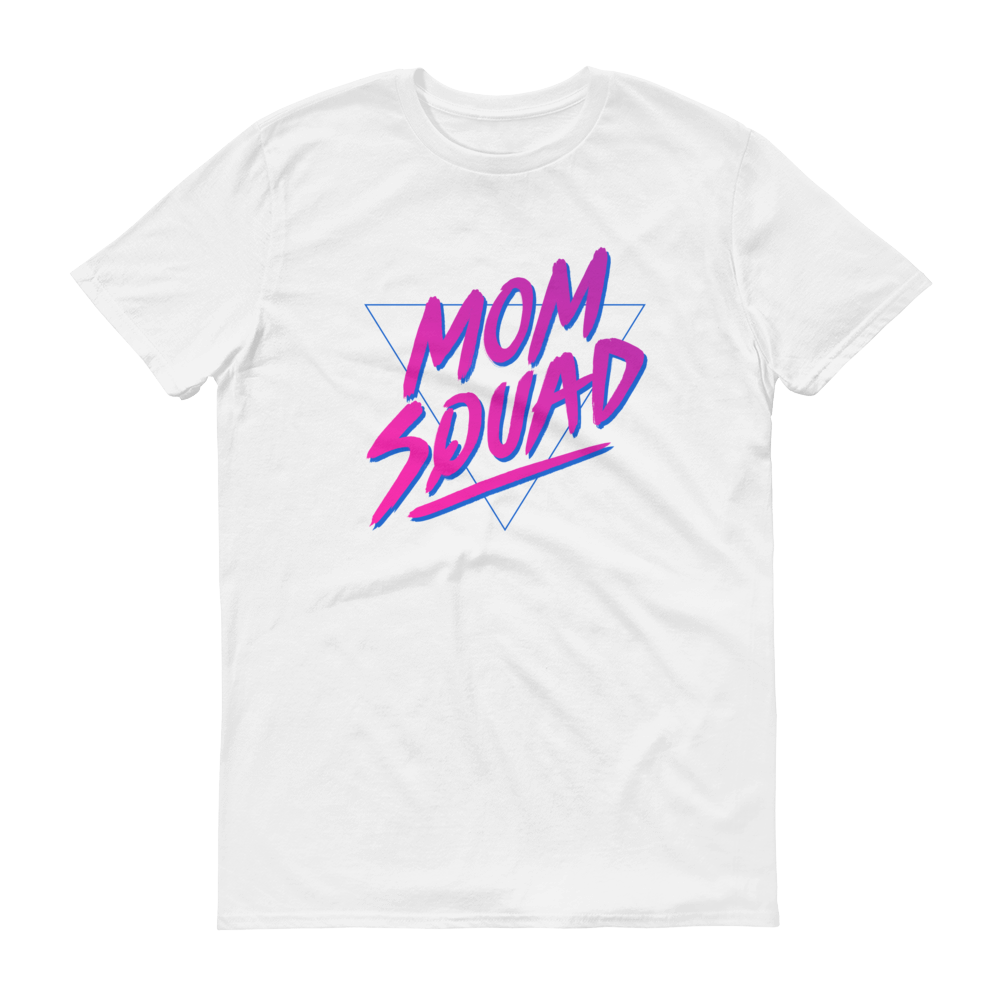 Mom In Progress 80s Mom Squad T-Shirt