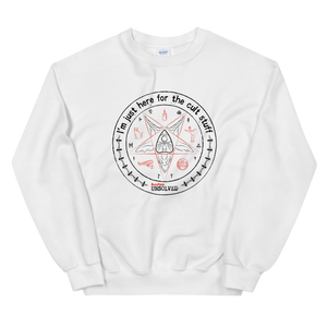 BuzzFeed Unsolved Cult Stuff Sweatshirt