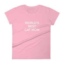 Load image into Gallery viewer, BuzzFeed Cat Mom Mother's Day Women's T-Shirt