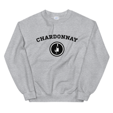 Load image into Gallery viewer, BuzzFeed Chardonnay Collegiate Wine Day Sweatshirt
