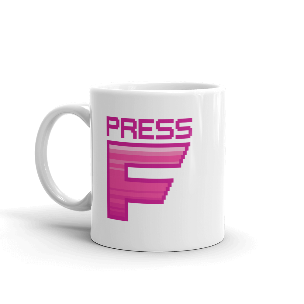 Multiplayer By BuzzFeed Press F Emote Mug