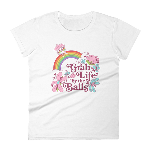The Good Advice Cupcake Grab Life Women's T-Shirt