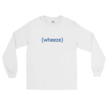 Load image into Gallery viewer, BuzzFeed Unsolved (wheeze) Long Sleeve T-Shirt