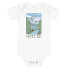 Load image into Gallery viewer, BuzzFeed Nature Earth Day Baby Onesie