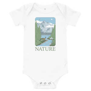 BuzzFeed Nature Earth Day Baby Onesie