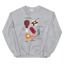 Load image into Gallery viewer, Tasty Thanksgiving Feast Sweatshirt
