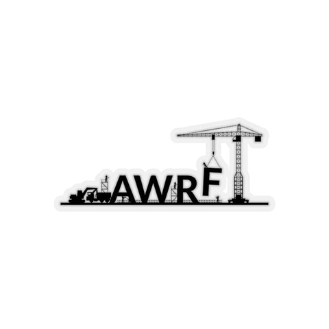 Lifting with AWRF Kiss-Cut Stickers