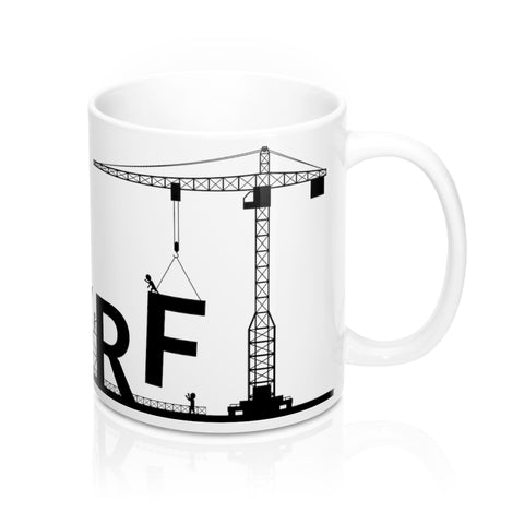 Lifting with AWRF Light Coffee Mug 11oz