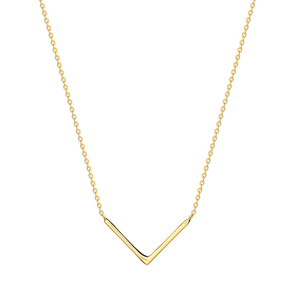 This handmade 14 karat gold necklace is one of our subtle essentials and is perfect for day to night wear.