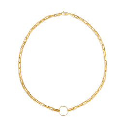 Chunky Gold Necklace - 18 karat gold vermeil on sterling silver