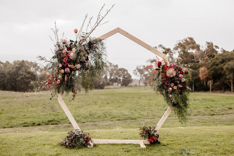 Wedding Ceremony fresh Flowers Geelong, Terindah Estate by Lustre Blooms