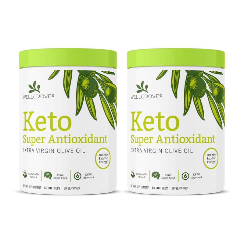 Keto Super Antioxidant EVOO Soft Gels (2 Pack)