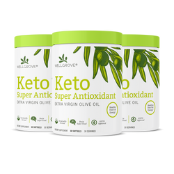 Keto Super Antioxidant EVOO Soft Gels (3 Pack)
