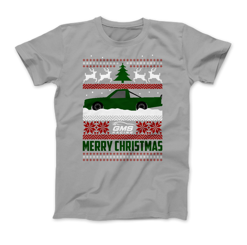 GMS Racing Christmas T-Shirt - Grey
