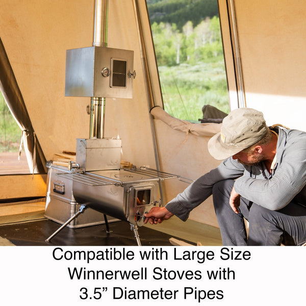 Winnerwell Pipe Oven - 3.5""